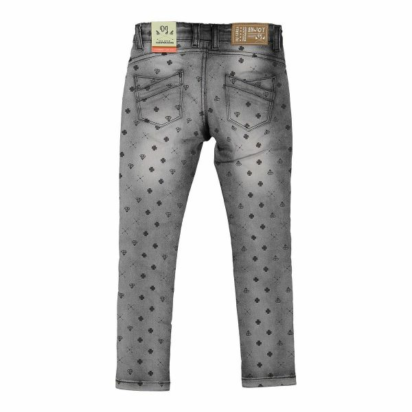 Jeans dark Grey DJ Dutch back