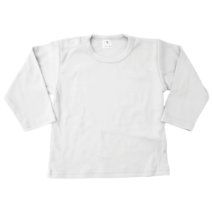 Basic Lonsleeve wit