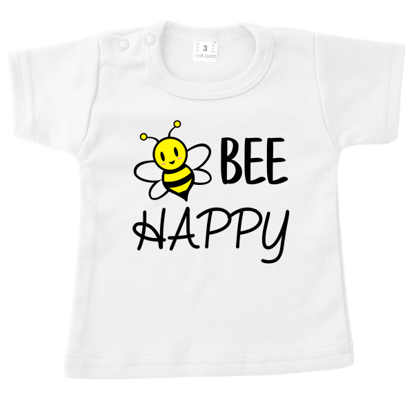 T-shirt Bee Happy wit