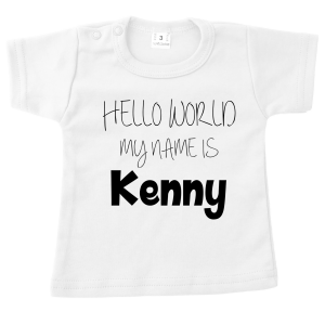 t-shirt hello world wit