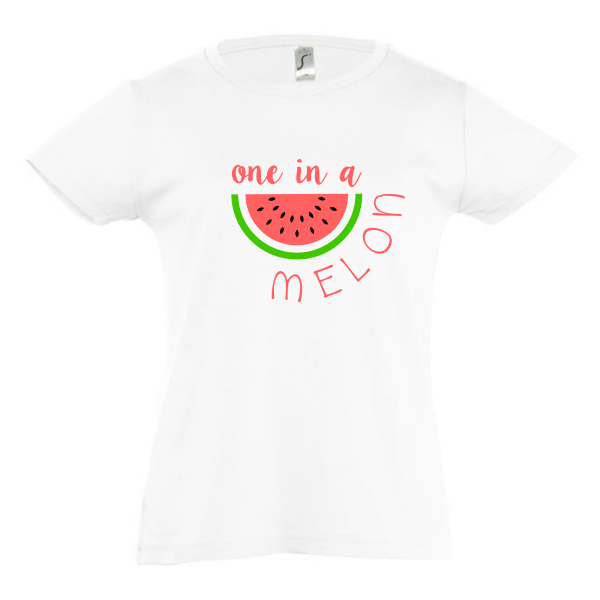 t-shirt one in a melon girls wit