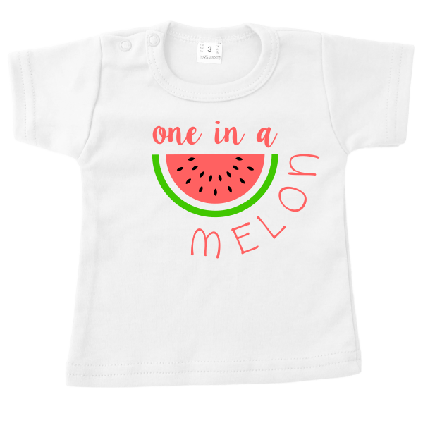 t-shirt one in a melon wit