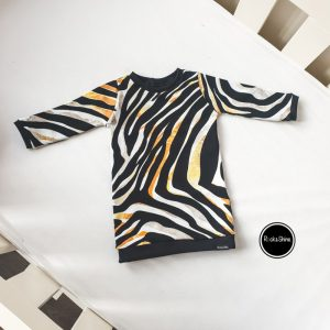 R&S Jurk Gold Zebra 2