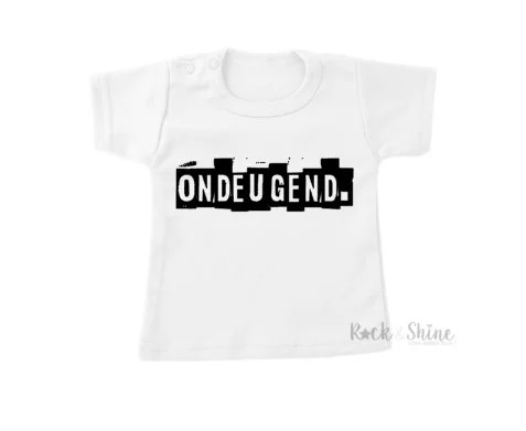 R&S T-shirt Ondeugend 3