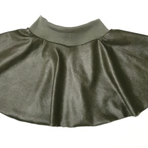 Rok Khaki Leatherlook