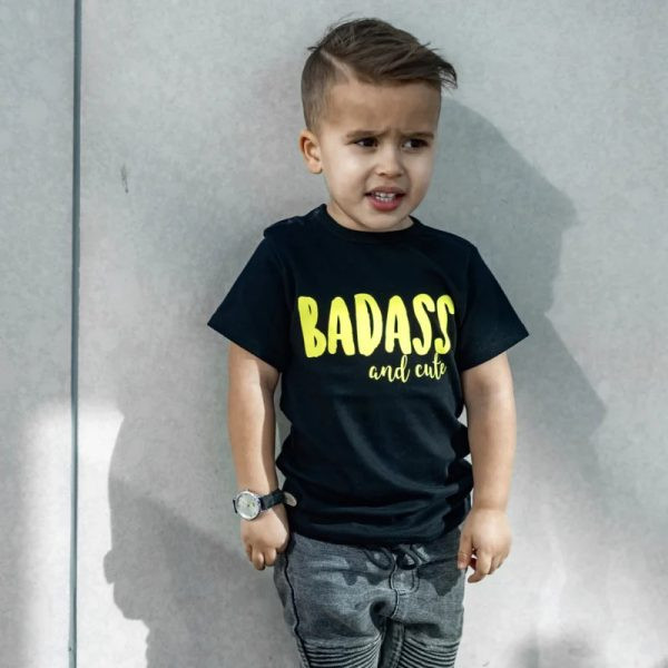 Shirt Badass and Cute 1