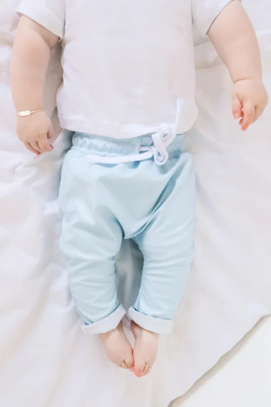 Aviilo Imitation Leather Pants Baby Blue 1