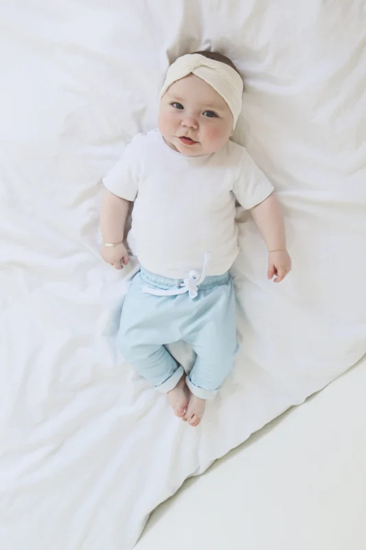 Aviilo Imitation Leather Pants Baby Blue 2