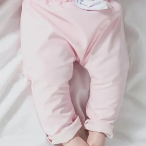 Aviilo Imitation Leather Pants Baby Rose 1