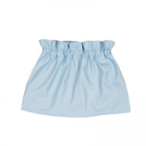 Aviilo Imitation Leather Skirt Baby Blue 2