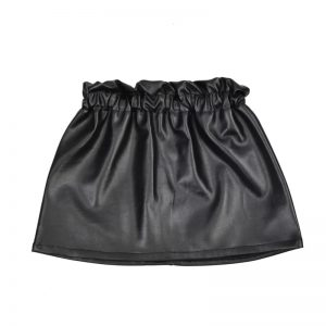 Aviilo Imitation Leather Skirt Black 2