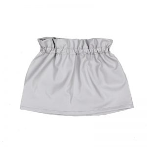 Aviilo Imitation Leather Skirt Silver Grey 2