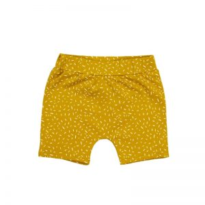 Shorts Sprinkles Ochre Yellow