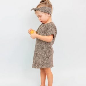 T-shirt Dress Baby Cheetah 2