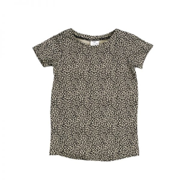 T-shirt Dress Baby Cheetah