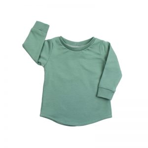 Shirt chalk green longsleeve