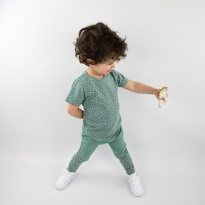 Shirt sprinkles chalk green shortsleeve 2
