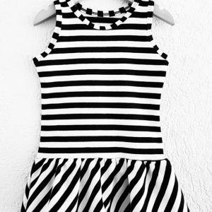 Jurk striped