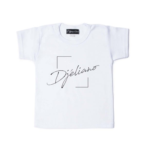 Shirt Boxed Name wit