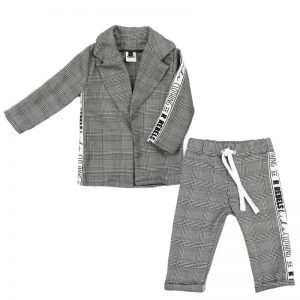 Aviilo Set Blazer en Pants Checks