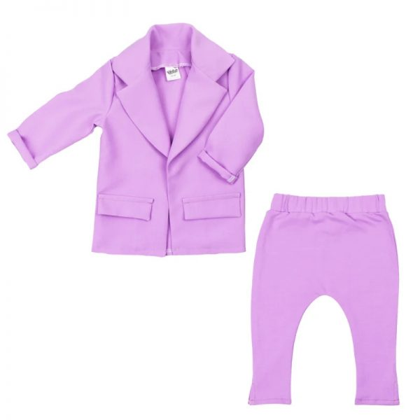 Aviilo Set Blazer en Slim Fit lila 1