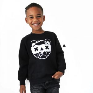 Sweater Dope Bear zwart