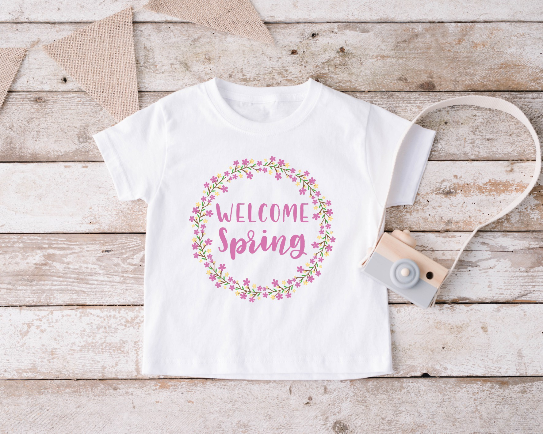 T-shirt Welcome Spring